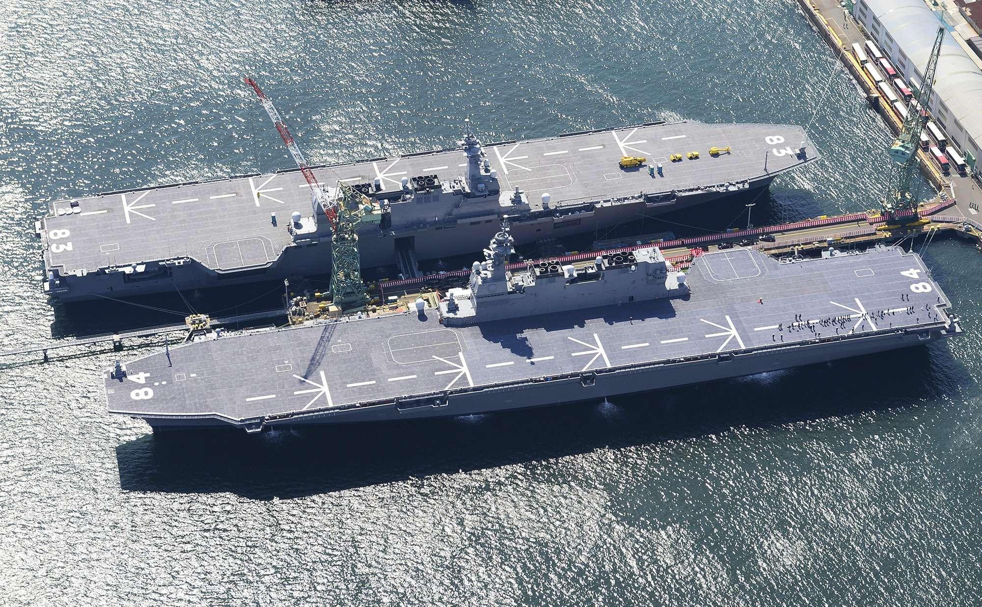 Il Giappone sta per annunciare le portaerei difensive