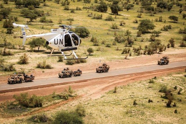 El Salvador invia altri 3 elicotteri MD 500 in Mali