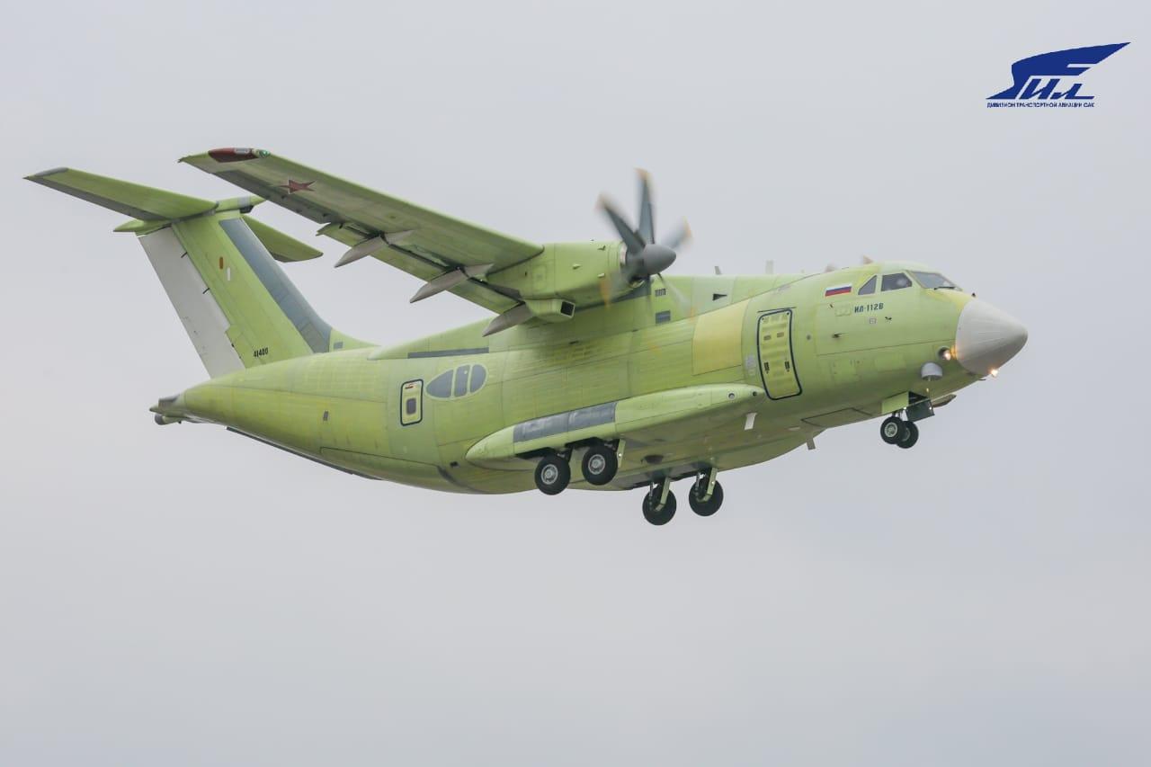 Il punto sul programma russo per l'aereo da trasporto tattico Ilyushin Il-112V
