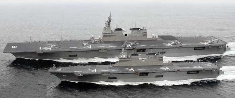 La Marina Giapponese avrà di nuovo le portaerei