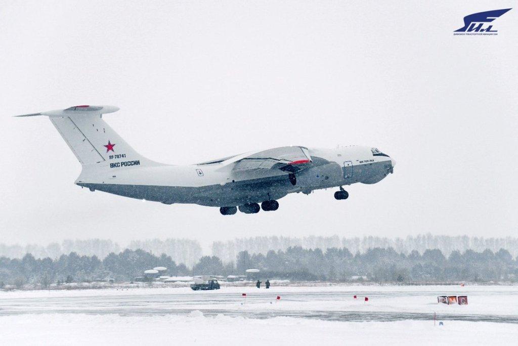 Test accelerati per il nuovo tanker russo Il-78M-90A