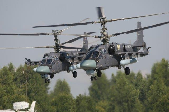 Almeno 114 nuovi elicotteri da attacco Kamov Ka-52M per l'Armata Russa