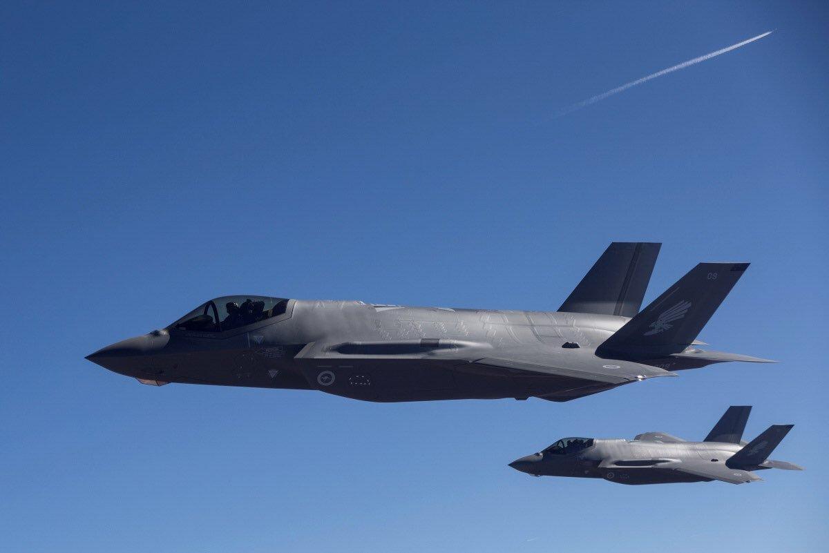 Primi F-35A per la RAAF arrivano sulla base aerea di Williamtown