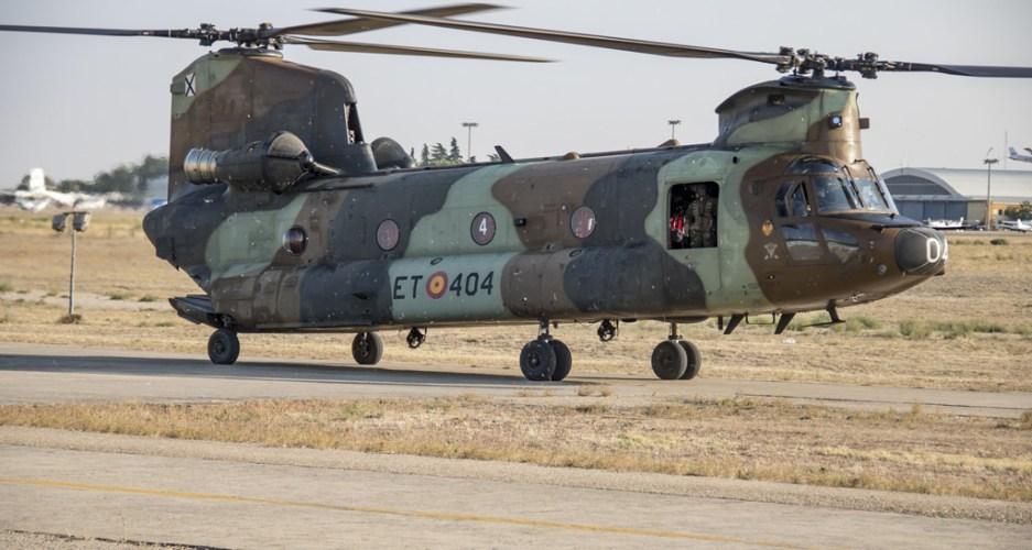 Boeing aggiornerà l'intera flotta spagnola di elicotteri Chinook dalla versione D alla F
