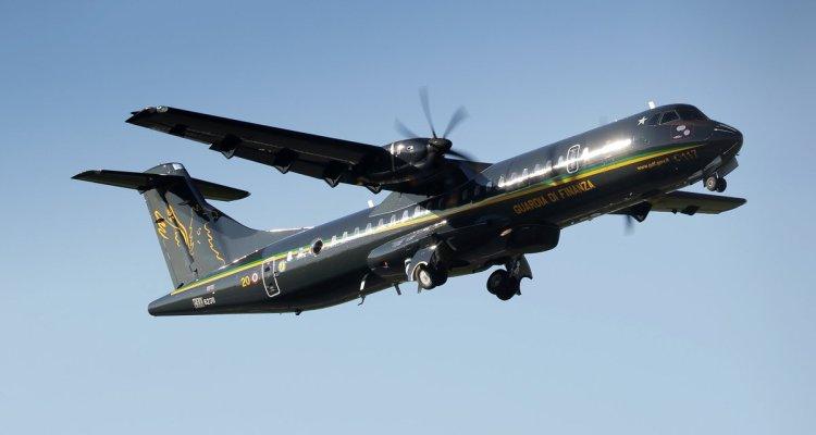 La GdF prende in consegna i primi due velivoli P-72B (ATR-72MP) di Leonardo