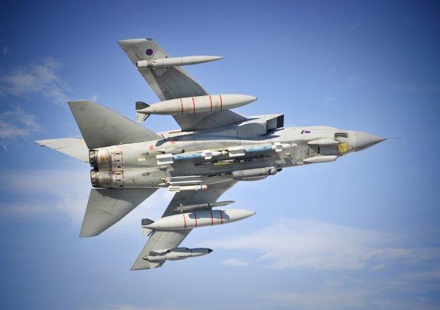 Il Tornado conclude contro lo Stato Islamico la sua carriera nella RAF