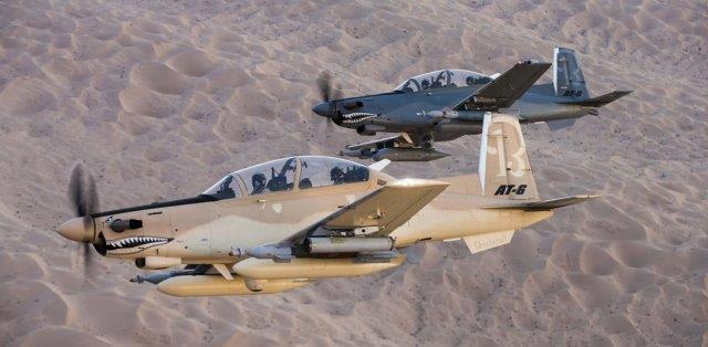 Gli Stati Uniti forniranno alla Tunisia addestratori e aerei da attacco T-6 Texan II