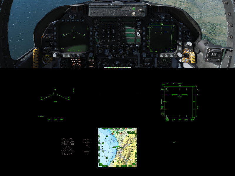 Rider's F/A-18C Instruments Mod