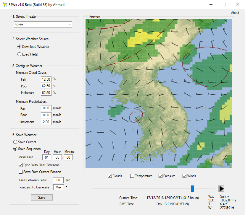 F4Wx Real Weather Converter 1.0 Beta (Build 39)