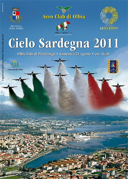 Frecce Tricolori a Olbia per Cielo Sardegna 2011