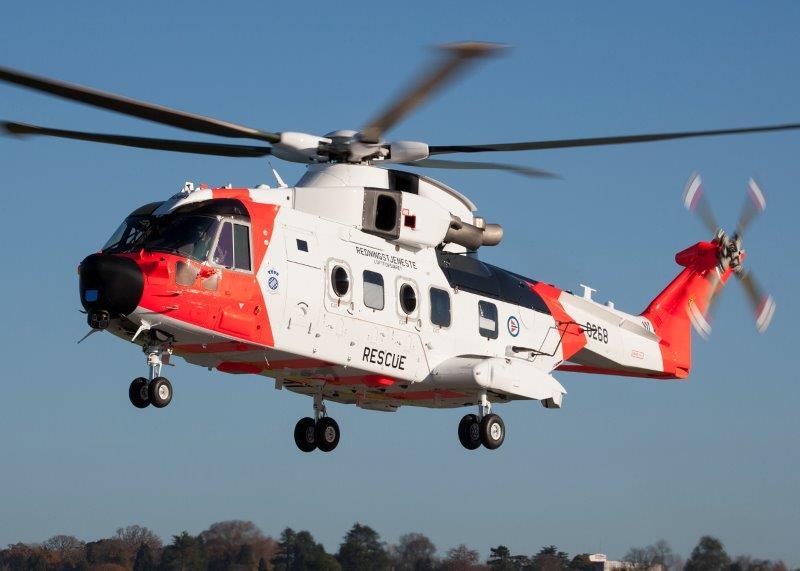 Al via la consegna di 16 elicotteri Leonardo AW101 alla Norvegia