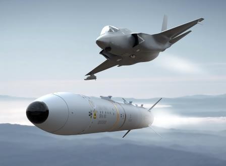 Primi lanci del missile MBDA ASRAAM da un F-35