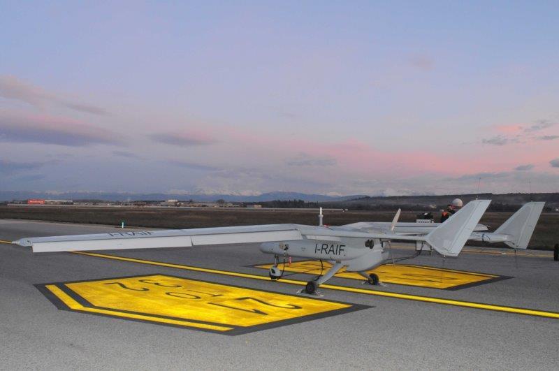 Conclusa la campagna di volo del Falco EVO con nuovo motore e collegamento satellitare