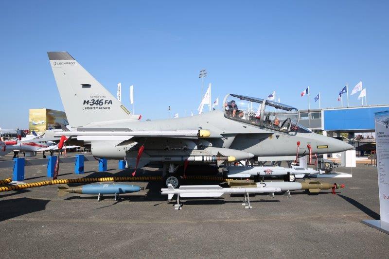 Leonardo presenta a Le Bourget l'M-346FA (Fighter Attack)