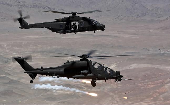 600 ore di volo sull'Iraq per il Task Group Griffon