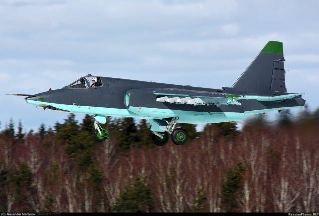 In Siria i russi ritirano i Su-24 e mandano i Su-25 aggiornati