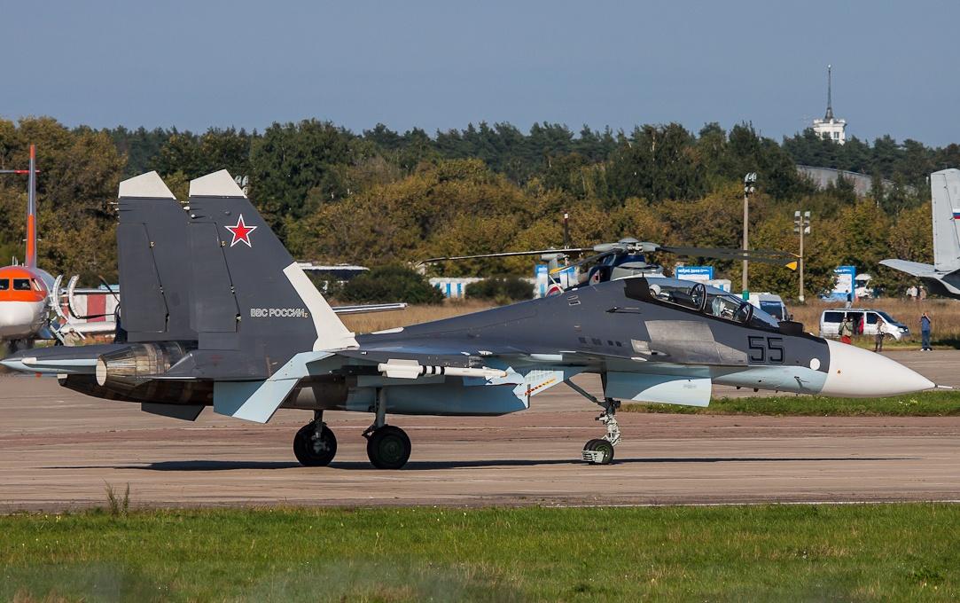 Primo aggiornamento per il Sukhoi Su-30SM russi
