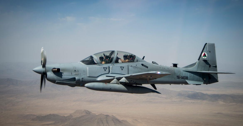 Il Pentagono rinnova il contratto per i Super Tucano afghani