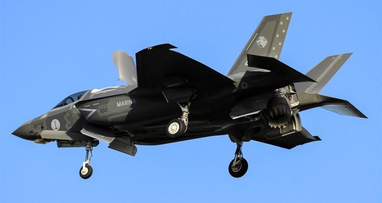 Il primo F-35B della Marina Militare Italiana