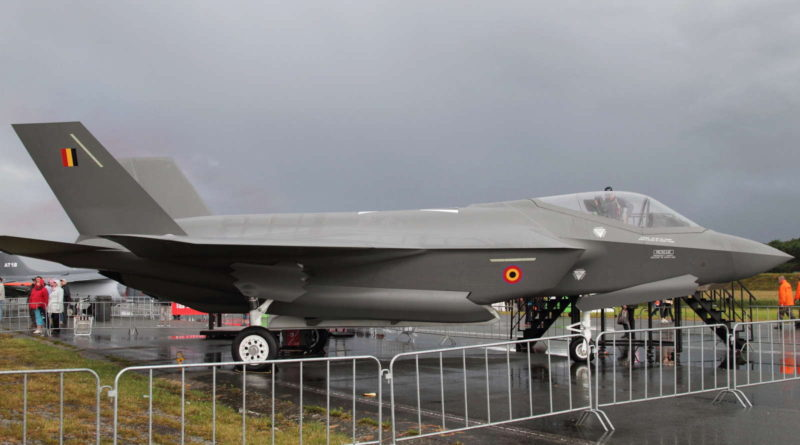 Il Belgio sceglie l'F-35, sconcerto In Europa