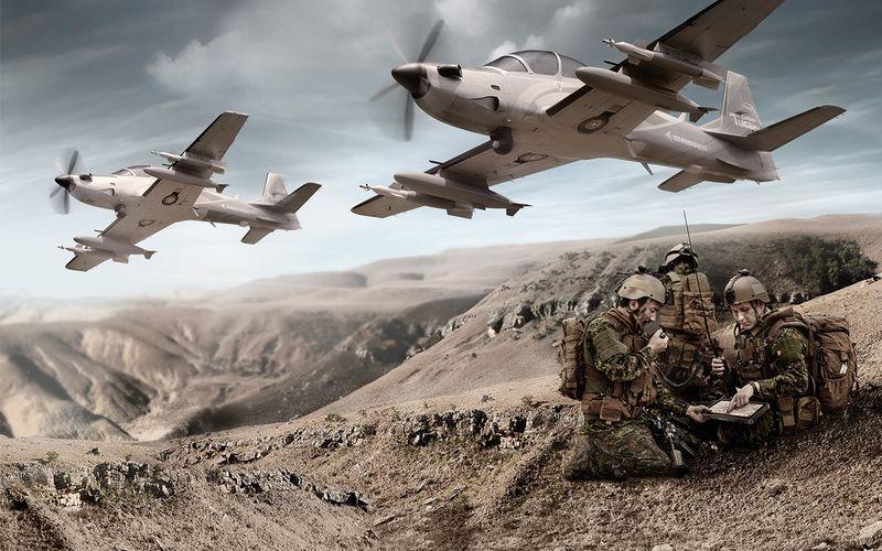 L'USAF acquista aerei da attacco leggero AT-6 e A-29