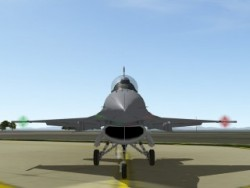 F-16 Fighting Falcon Demonstration (Falcon BMS)
